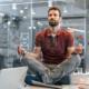 yoga no trabalho
